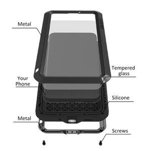 Image 2 - Love Mei Metal Case For Huawei Mate 20 Lite Mate 10 Pro P20 P30 Pro Nova 4 4E Shockproof Anti Fall Phone Cover Rugged Armor Case