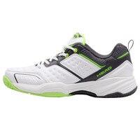 HEAD Men Tennis Shoes PU Leather Lace Up Sneakers Breathable Outdoor Sport Tennis Shoes Original Hombre