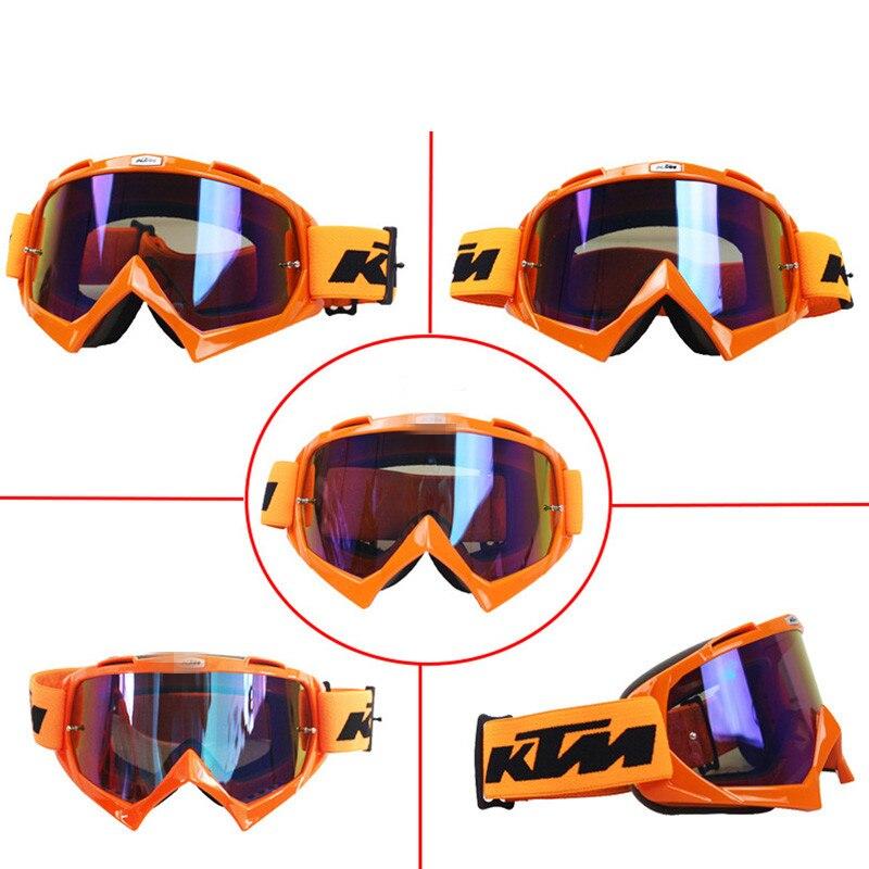 MOTERCROSS KTM Motocross Lunettes VTT DH VTT Dirt Bike Lunettes Oculos Antiparras Lunettes Motocross lunettes de Soleil Pour Moto Casque