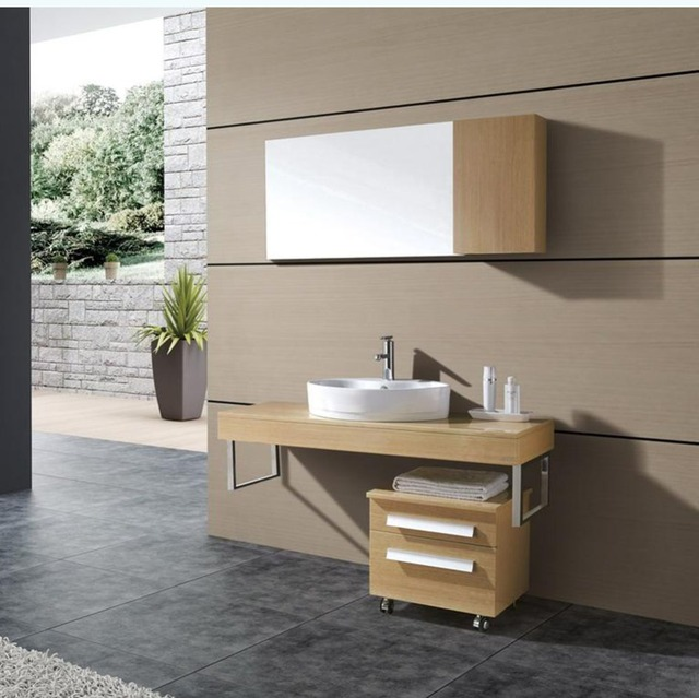 Linkok Furniture China factory direct wholesale commercial small chinese hotel  bathroom vanity