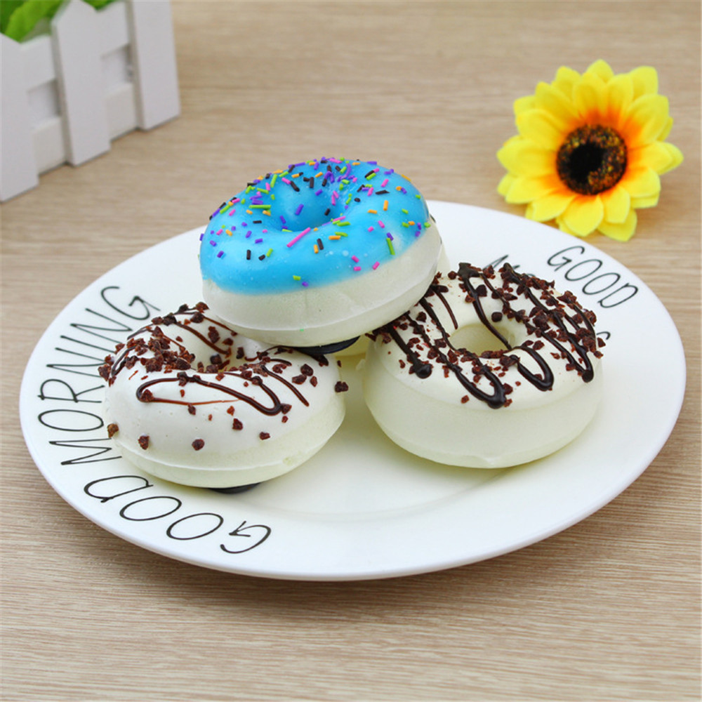 Stickers Cream Decoration Display Mini Scented Donuts Fridge Bread Sweet