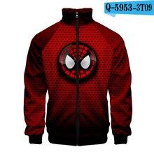 Spiderman Costume Far From Home Jacket Peter Parker Superhero Oversized Hoodie Long Sleeve Movie Hoodie Pullover 3D Clothing