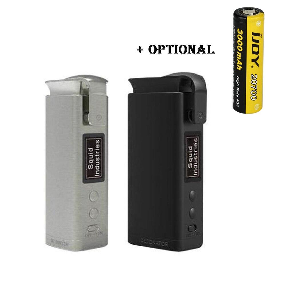 Détonateur TC Mod wi/40A 3000mAh 20700 batterie Max 120W Ecig vape Mod VS glisser 2/Double baril V3