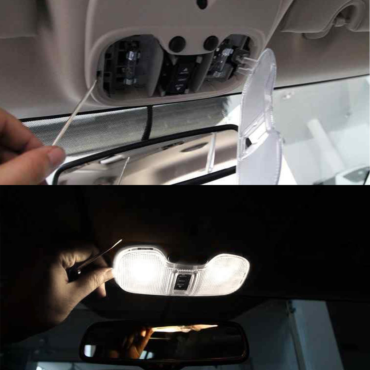 LED Festoon Dome 31 36 39 41mm Automotive LED Interior light Double pointed COB ceramic White C5W led Auto Light for Car Styling in Signal Lamp from Automobiles Motorcycles