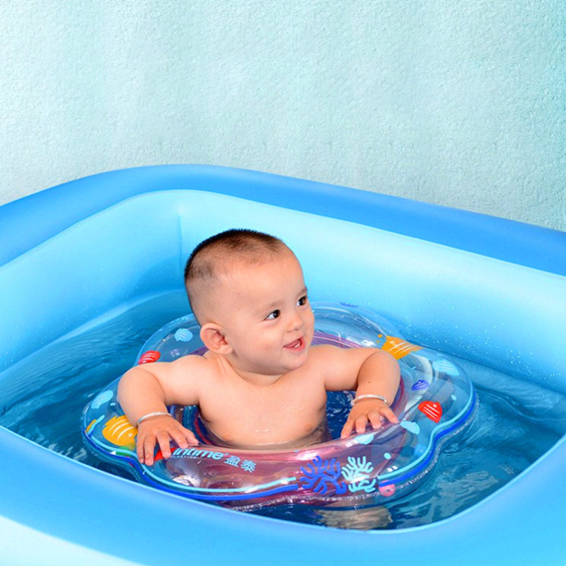 New Summer Baby Thickening Inflatable Swimming Boat Pool Float Children Seat Boat Pool Bath Accessories