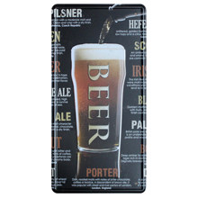 [ Mike86 ] Classic Beer Style Pub Tin Sign Iron painting decoration Retro Gift Craft Metal Poster D-342 Mix order 30*15 CM(China)