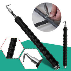 Новый 306 мм полуавтоматический арматурный крюк вытяжной стальной крючок для связывания проволочное Крепление Инструменты для завязывания