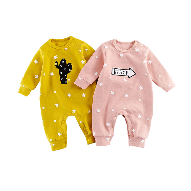 Baby Spring Clothing Newborn Infant   Romper   Long Sleeve Baby Boy Cotton Sleepwear Newborn Jumpsuit Bebes Infantil Clothes