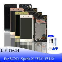 LCD Display for SONY Xperia X F5121 F5122 Original Screen Assembly and Touch Panel Digitizer Assembly Replacement