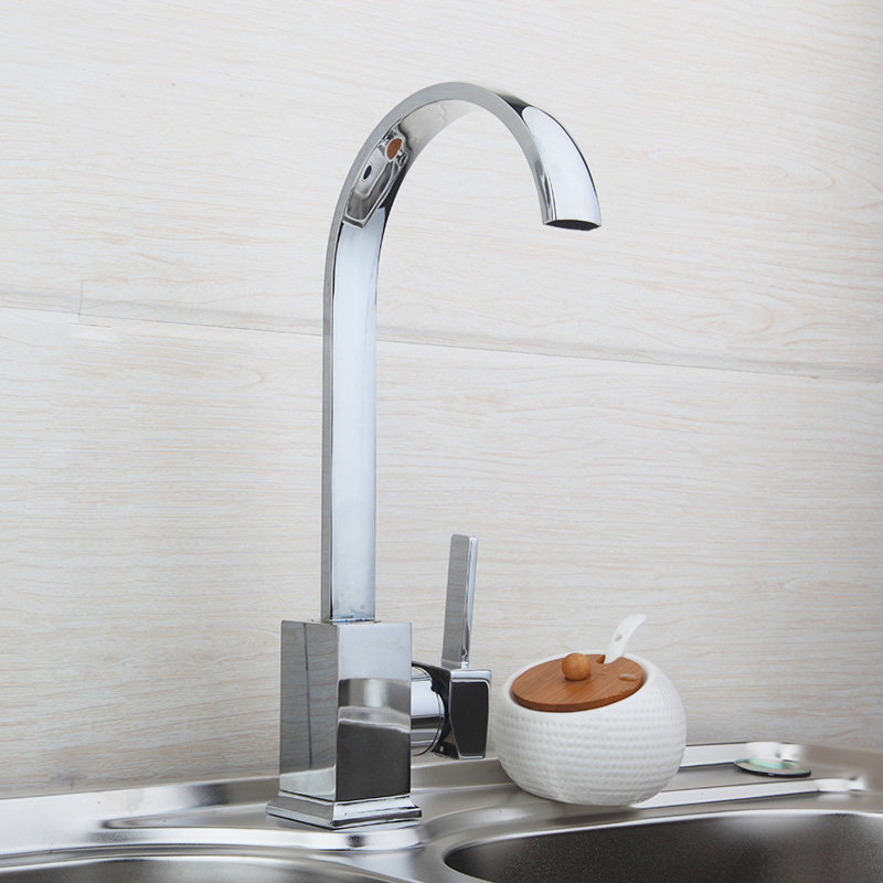 8522 1 Deck Mount Single Handle Wash Basin Sink Vessel Water Tap Vessel Lavatory Kitchen Torneira