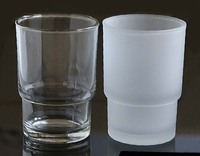 bathroom hotel household glass toothbrush cup frosted or transparent