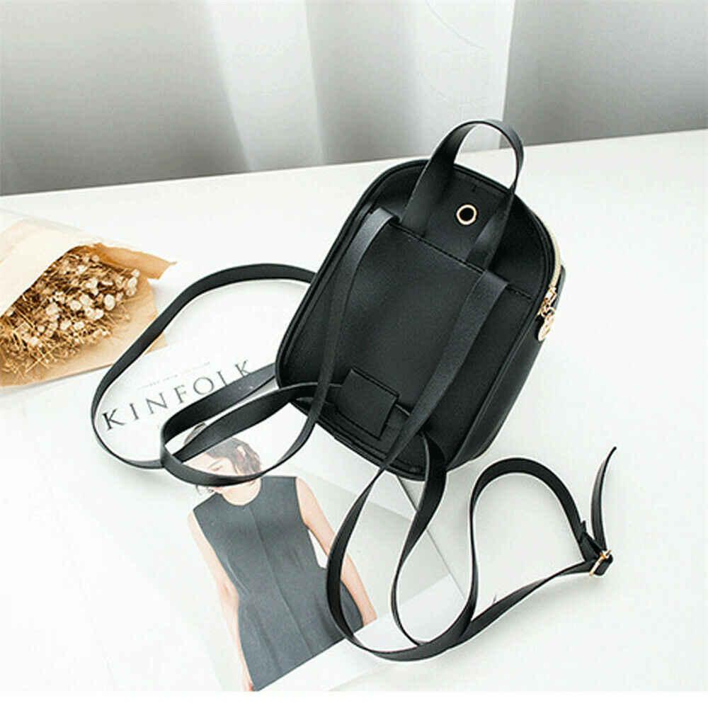 女性のファッションのバックパック漫画の印刷ミニバッグ屋外レジャーショルダーバッグ canta スクールバッグ