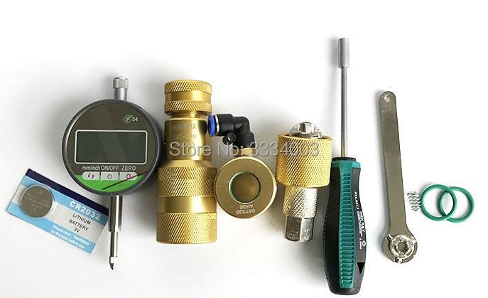 common rail injector disassemble tool measuring tool diesel oil return tool armature lift tool for CAT 320D, common rail repair