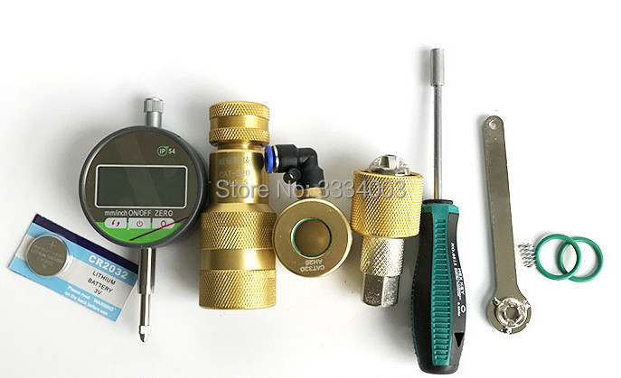 common rail injector disassemble tool measuring tool diesel oil return tool armature lift tool for CAT 320D, common rail repair