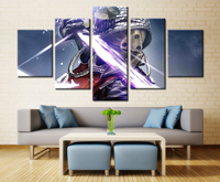Science Fiction Film Beauty Beast Movie Poster Print On Oil Painting Canvas Waterproof For Bedroom Decor