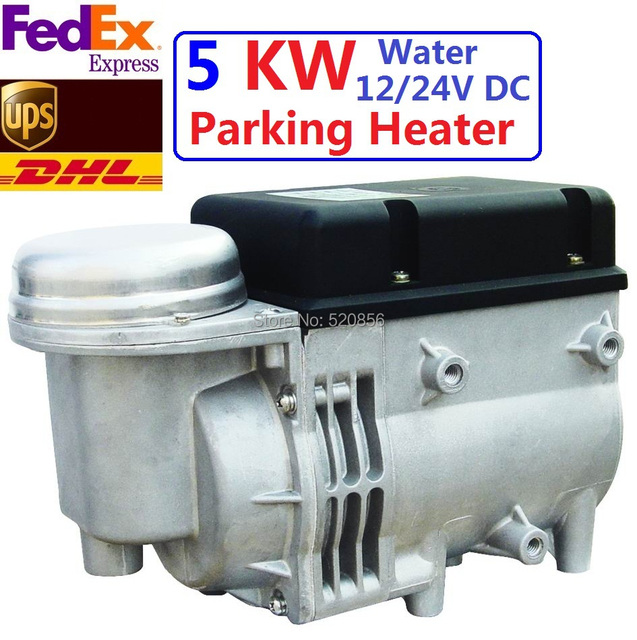 Free Shipping Newest 5kw 12V 24V Water Diesel Heater  For Car With Similar Webasto Auto Parking Heater High Quatity