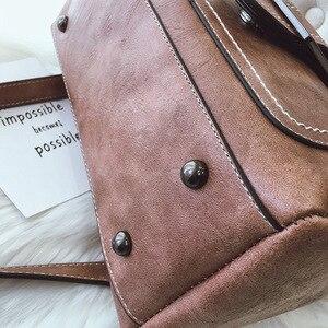Image 5 - Lüks çanta kadın PU deri omuz çantası kadın kadınlar için Crossbody çanta postacı çantası Casual Tote bayan el çantası kese