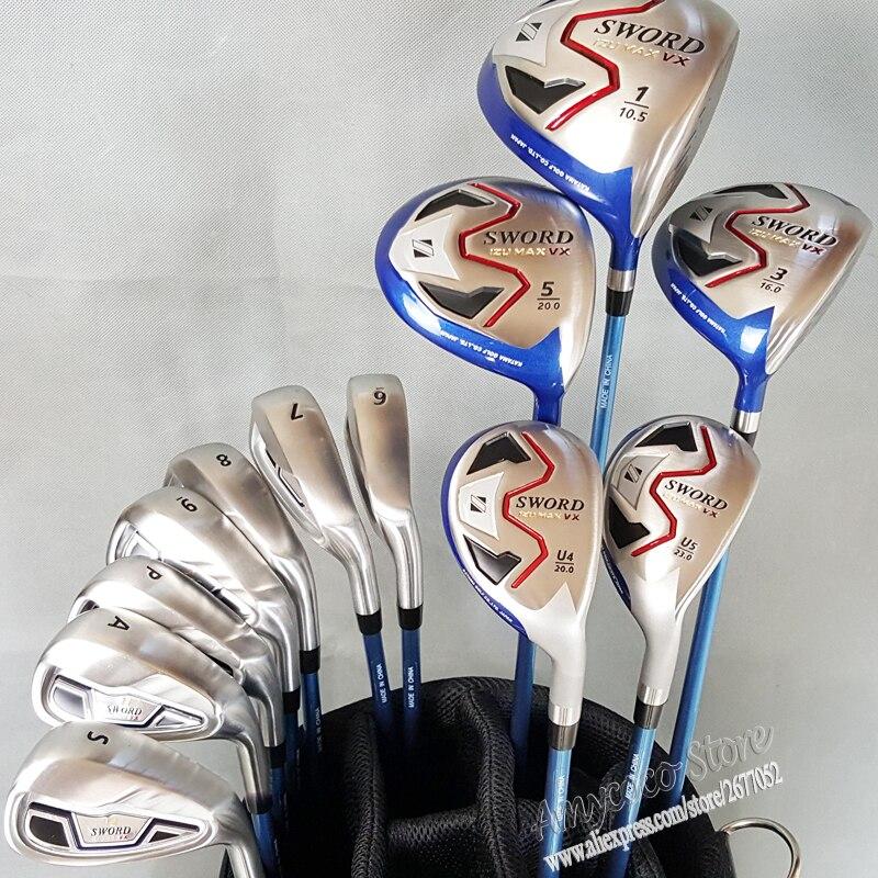 Nuevos Clubs de Golf KATANA ESPADA IZU MAX VX completo clubs set 1.3.5 madera +