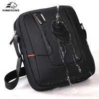 Kingsons Waterproof Notebook Computer Laptop Bag Male Briefcase Shoulder Messenger Bag Unisex Men Women Durable Bag