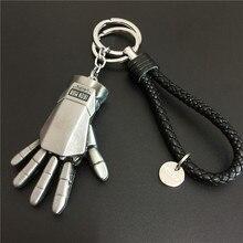 Christmas Toy Gift Marvel 1pc Superhero Iron Man Gloves 5cm Model Metal Keychain Pendant Car Key