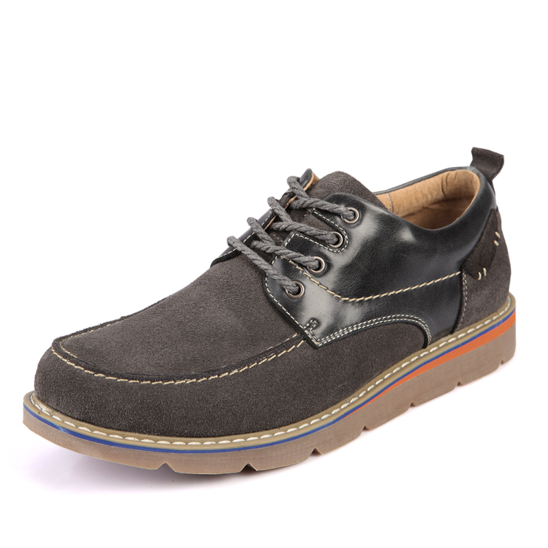 Brand Genuine Leather Shoes Men Spring Autumn Casual Shoes for Man Sapatos Masculinos, Fashion Lace Up Outdoor Men Boat Shoes new 2016 medium b m massage top fashion brand man footwear men s shoes for men daily casual spring man s free shipping