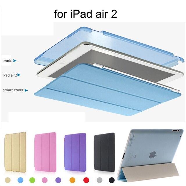 Защитная оболочка Для apple ipad Air 2 Чехол Slim-Fit Смарт Чехол для ipad 6 с Авто Режим Сна/Пробуждение Функция