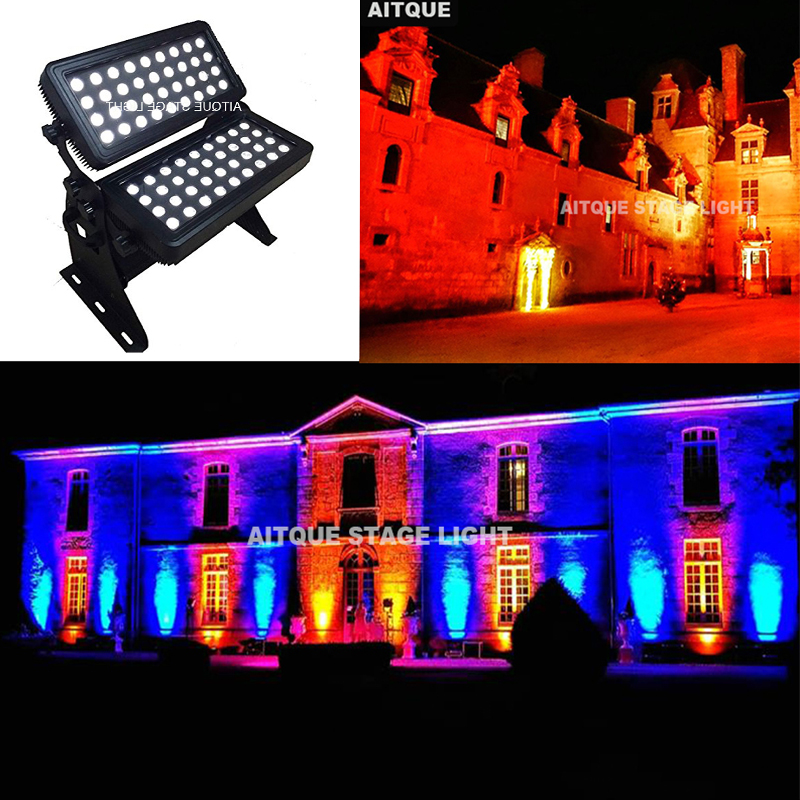 Outdoor Rgbw Led Strip Lights: (6lot/CASE)Led Light Outdoor 72x10w Rgbw Led City Color
