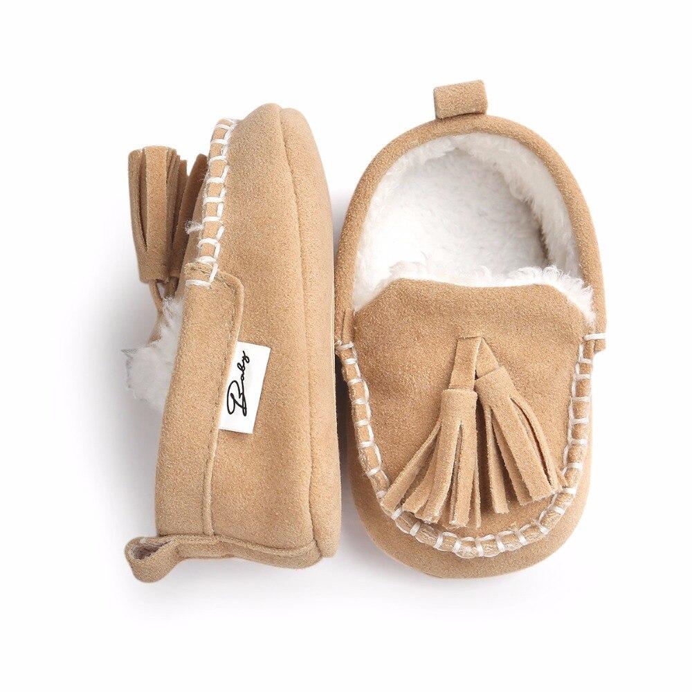 2017 Winter Baby Peuter Jongen Kids Kwastje Prewalker Babyschoenen - Baby schoentjes - Foto 2
