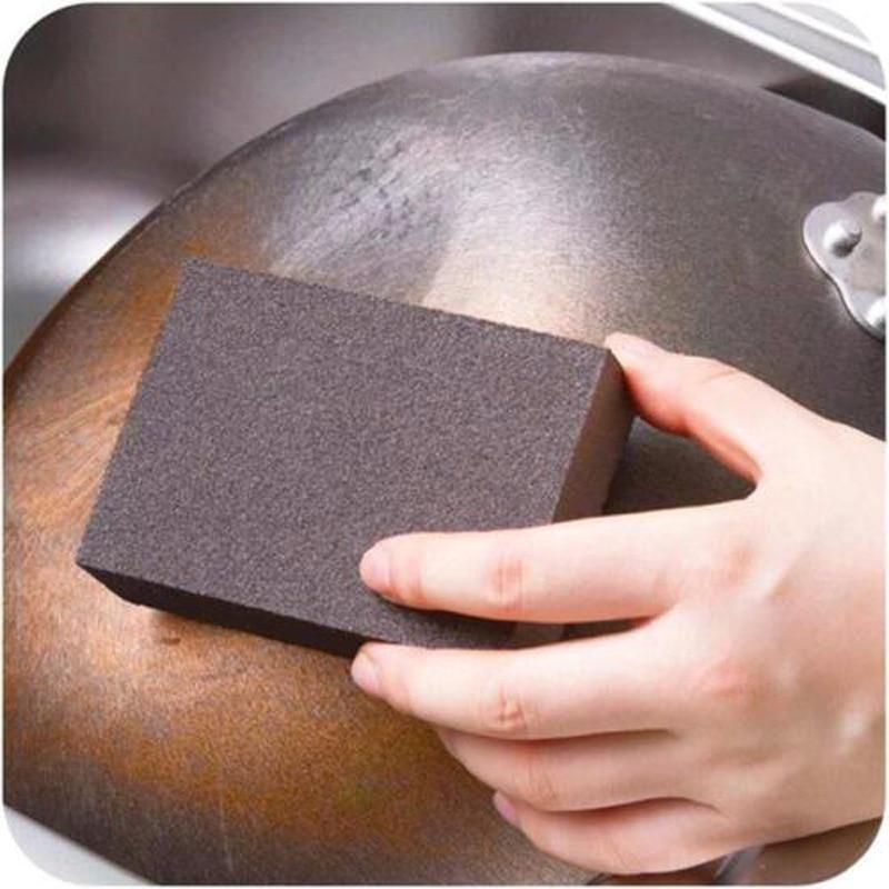 Кухня Nano Эмери пот очистки очиститель ржавчины фокусных расстояний Красители губка инструмент для удаления