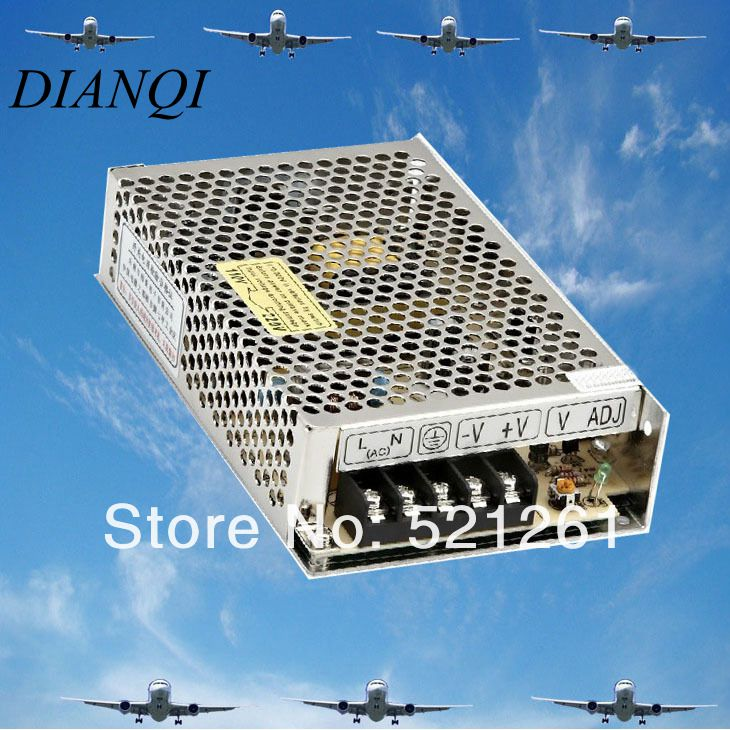 714049 s 15 5 S-75-15power suply unit 75w 15V 5A ac to dc power supply ac dc converter switch adjustable output voltage