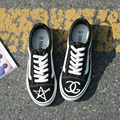 Горячая Бесплатная доставка 2017 весна новая мода женская обувь случайные платформа холст простой женщины повседневная белые туфли mordern кроссовки