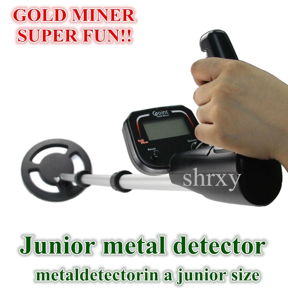2017 Newest Junior Metal Detector Kid Underground Metaldetectorin Junior Size Gold Miner Toys Gift Bounty Hunter Same Style металлоискатель bounty hunter discovery 2200