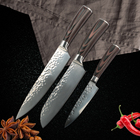 Kitchen Knife 8 inch Professional Japanese Chef Knives Stainless Steel knife Set Fruit Meat Santoku Knife Cooking Accessories