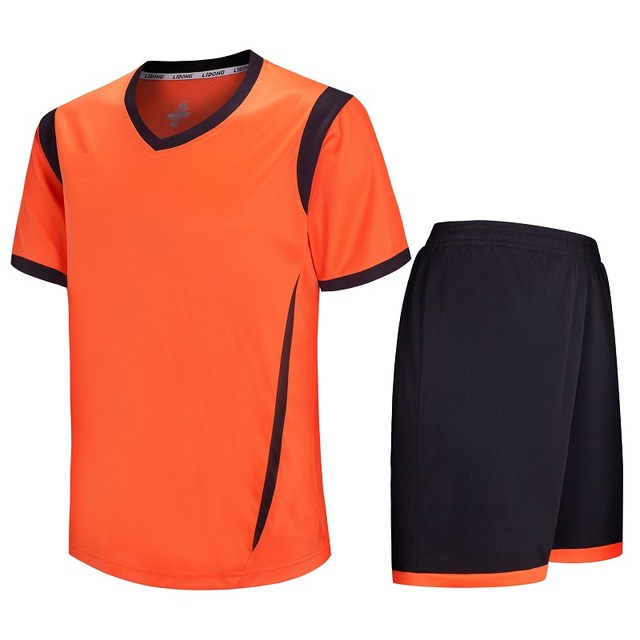 e90f01e296e Youth Best Thai Quality Soccer Jerseys Mens Kids Football Jersey Sets  Breathable Shirts Pants Quickly dry Sports Goleiro Clothes