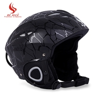 BENICE Skiing Helmet With Inner Adjustable Buckle Liner Cushion Layer Sports Safety Skiing Helmets EPS And
