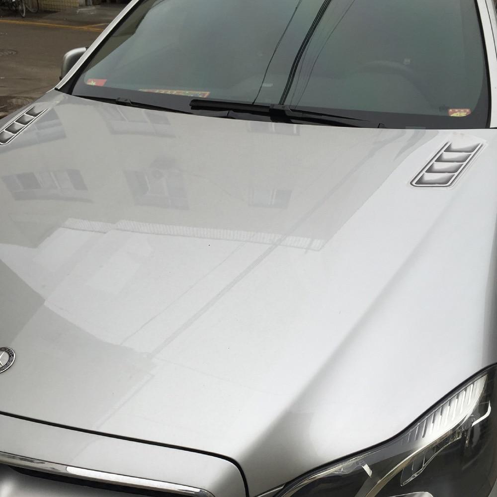 Image 4 - Автомобильный дизайн 3D Поддельные вентиляционные отверстия декоративные боковые вентиляционные отверстия наклейки забавные наклейки эмблема символ креативные персонализированные наклейки-in Наклейки на автомобиль from Автомобили и мотоциклы