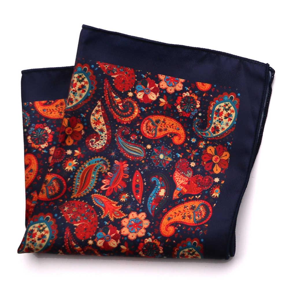 Su misura Smith Del Nuovo Progettista Tasca Quadrato di Modo Fazzoletto Dot Paisley Floreale Plaid di Stile Mens Hanky Tasca del Vestito Accessori