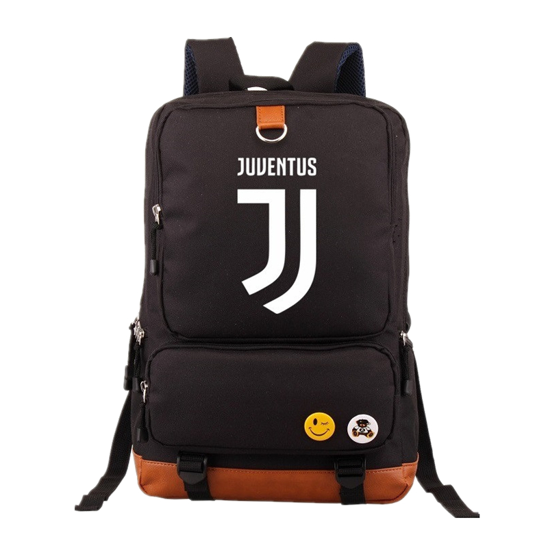 2018 Fashion Juventus Printing Backpack Men Backpacks Rucksack Students School Bags Women Bagpack Laptop bag