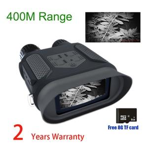 Image 1 - NV400B 400M المدى IR نظارات الرؤية الليلية WG400B للرؤية الليلية NV مناظير مع الفيديو والصورة NV Riflescope لصياد