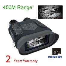 NV400B 400M Range IR Night Vision Goggles WG400B Night Hunting NV Binoculars with Video and Picture NV Riflescope for Hunter