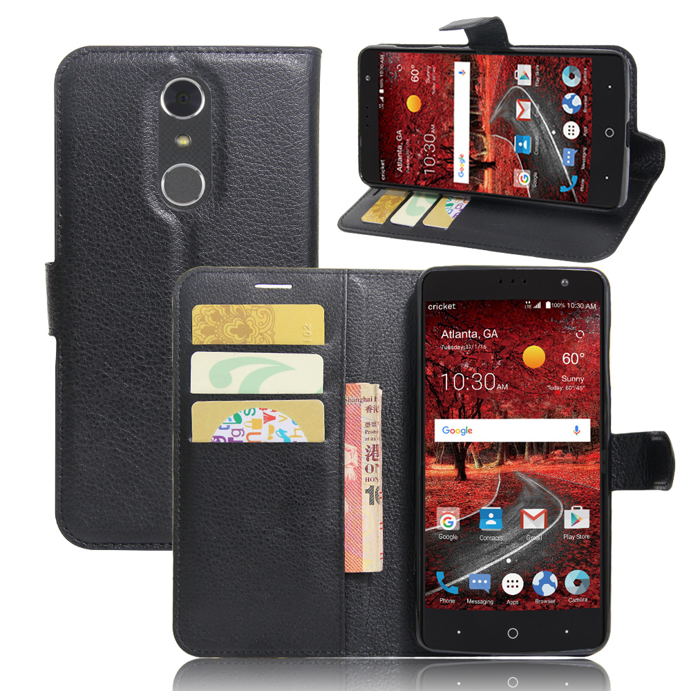 For ZTE Grand X4 case cover ,<font><b>New</b></font> <font><b>2017</b></font> Lychee leather wallet stand <font><b>phone</b></font> case cover For ZTE Grand X4