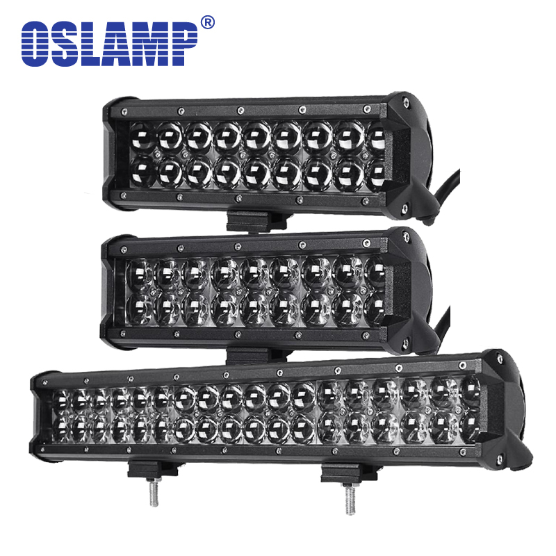 Oslamp 4D 10inch 90W/ 17inch 540W Led Light Bar OffRoad Spot/Flood Combo Car Led Driving Work Light for Trucks ATV SUV 4X4 4WD стоимость