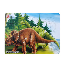 Купить с кэшбэком 3D Paper jigsaw puzzles toys for children kids toys brinquedos Jurassic Park puzzle educational Baby toys Dinosaur Puzles Puzzel