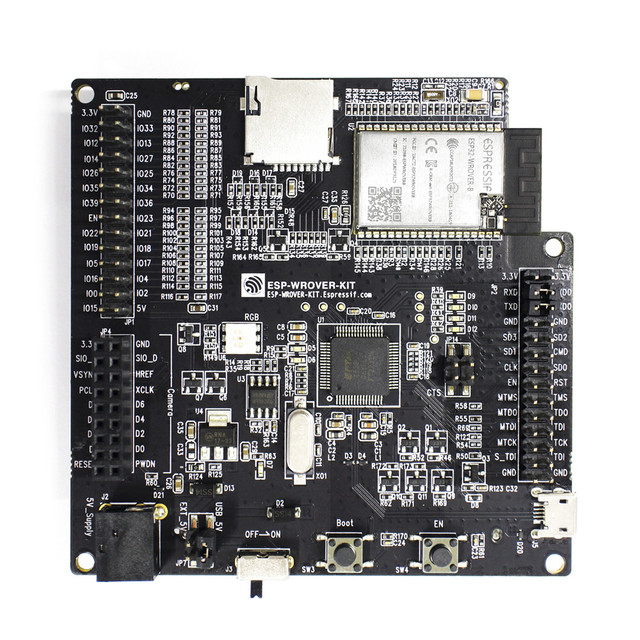 US $59 0  ESP WROVER KIT VB development board with ESP32 WROVER B module-in  Replacement Parts & Accessories from Consumer Electronics on