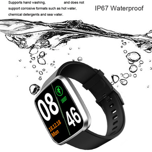 Image 5 - 2019 スマート腕時計メンズ防水血圧ビッグタッチスクリーンスマートウォッチ女性心拍数スポーツフィットネストラッカー腕時計ウェアラブル