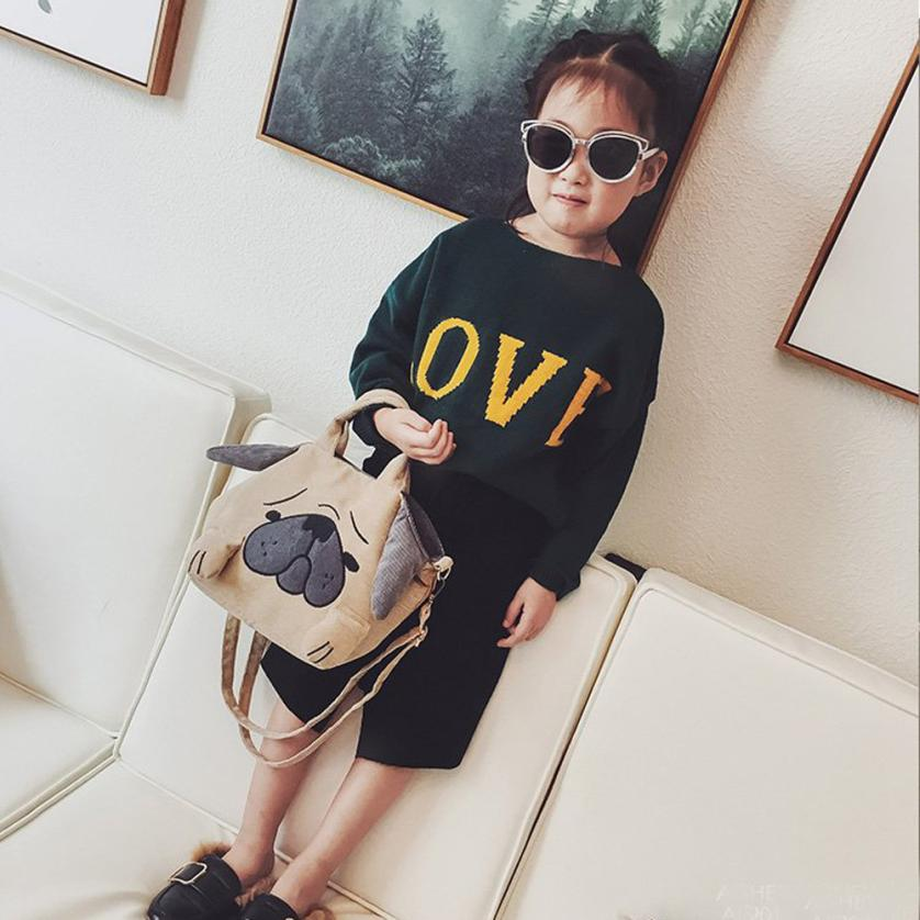 MOLAVE Shoulder Bags new high quality Children Cute Cartoon Fashion Handbags Mini Crossbody shoulder bag women feb22