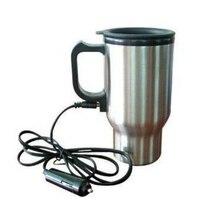 450 мл автомобильный чайник, электрический чайник для воды, портативный чайник из нержавеющей стали, термосы для автомобиля