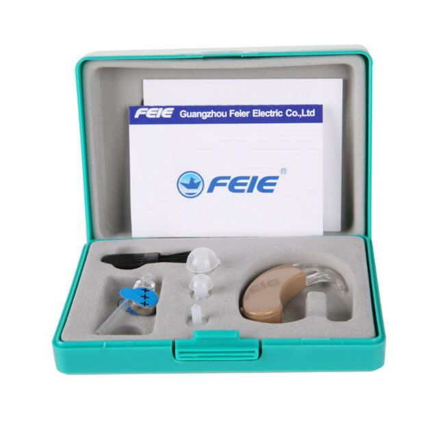 Small Mini Invisible Hearing Aid Sound Amplifier Ear Care Tool Device For Elderly Deaf Hard Hearing S-9C