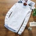 2016 Novo Estilo de Moda Verão camisas Dos Homens T de Alta Qualidade 3D Impresso Tiger Patterned Embossing camisetas Camisa Grande Do Tamanho T Homme