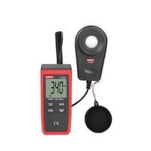 UNI-T UT383S Digital Light Meter Handheld Mini LCD Luminometer Digital Photometer Luxmeter Light Meter   0-199999 Measure Tester стоимость